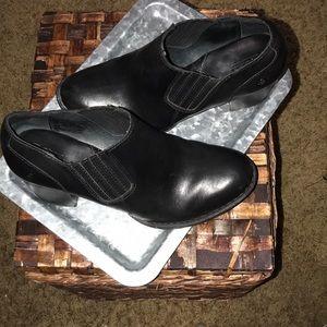 Born black booties